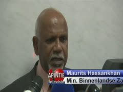 Interview met Minister Hassankhan over Fiso 2