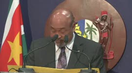 President Bouterse over CTU