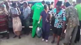 Vijf gewonden na aanrijding tussen pickup en lijnbus...