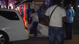Steekpartij met dodelijke afloop voor ingang TBL-Cinemas (Hermitage Mall)...