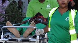 Ingezonden: Politie schiet gericht op vluchtende verdachte te Leiding 20...