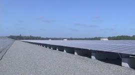 Eerste zonne-energiecentrale van Suriname geopend...