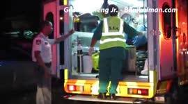 Rovers veroorzaken ravage na wilde achtervolging, politie pakt hardhandig aan...