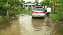 Verschillende gebieden kampen nog steeds met wateroverlast...