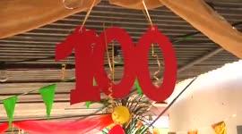 Mevrouw Celestine Ceder herdacht 100ste verjaardag...