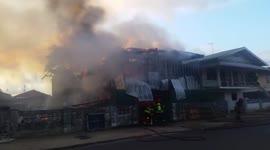 Woning verwoest door brand op goede vrijdag...