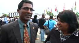EXTRA - Reportage Aktieprotesten Onafhankelijkheidsplein...