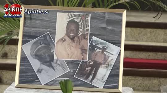 Inspekteur Herman Gooding postuum geeerd door Surinaamse Politie Bond...
